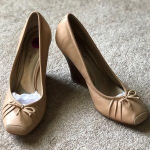 Jessica Simpson Ballet Slipper Wedge Heels